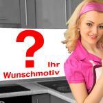 Küchenrückwand < Ihr Wunschmotiv > Premium Hart-PVC 0, 4 mm selbstklebend - Direkt auf die Fliesen