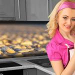 Küchenrückwand < Muschel Strand > Premium Hart-PVC 0, 4 mm selbstklebend - Direkt auf die Fliesen