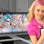 Küchenrückwand < Seaside > Premium Hart-PVC 0, 4 mm selbstklebend - Direkt auf die Fliesen