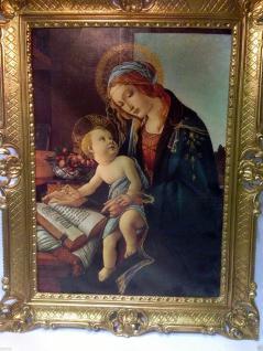 Heilige Maria Bild Kunstdruck Heiligenbild Muttergottes ikonen Mutter mit Kind