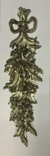 Wanddeko Barock Wandbehang Antik Silber Deko 60x18cm Wandrelief Deko C1503