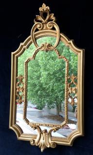 Wandspiegel Barock Gold Antik rokoko 58X31 Deko Spiegel c456 Flurspiegel