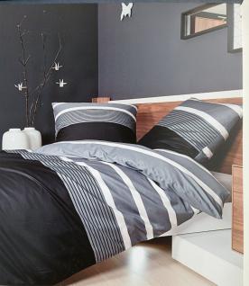 bettw sche grau wei online bestellen bei yatego. Black Bedroom Furniture Sets. Home Design Ideas