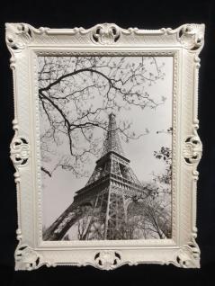 Paris Eifelturm Gerahmte Gemälde Weiß 90x70 Gemälde Eifelturm xxl Bild Wandbild