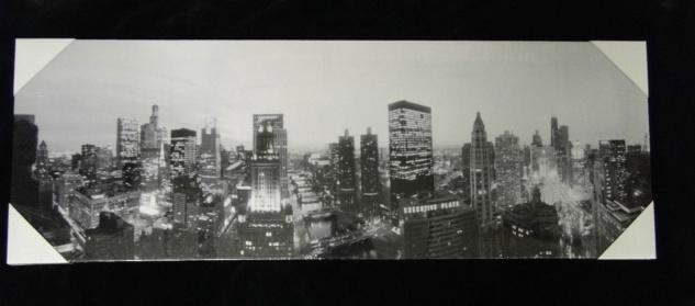 Bilder Leinwand Keilrahmen Bild Canvas Bilder CITY NEWYORK BLUMEN 31X 86 AMERIKA