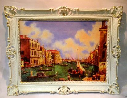 Venedig Gondel Bild Nostalgie Gemälde 90x70 Venedig Venezia Aquarell Italien