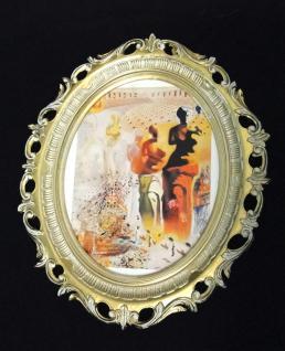 Wandbild Frau Bild VINTAGE Bild mit Rahmen Bilderrahmen xxl Kunstdruck SHABBY 68