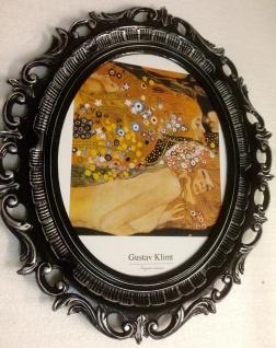 Bild mit Rahmen Gustav Klimt Gemälde ANTIK BAROCK 58X68 Neu Bilderrahmen