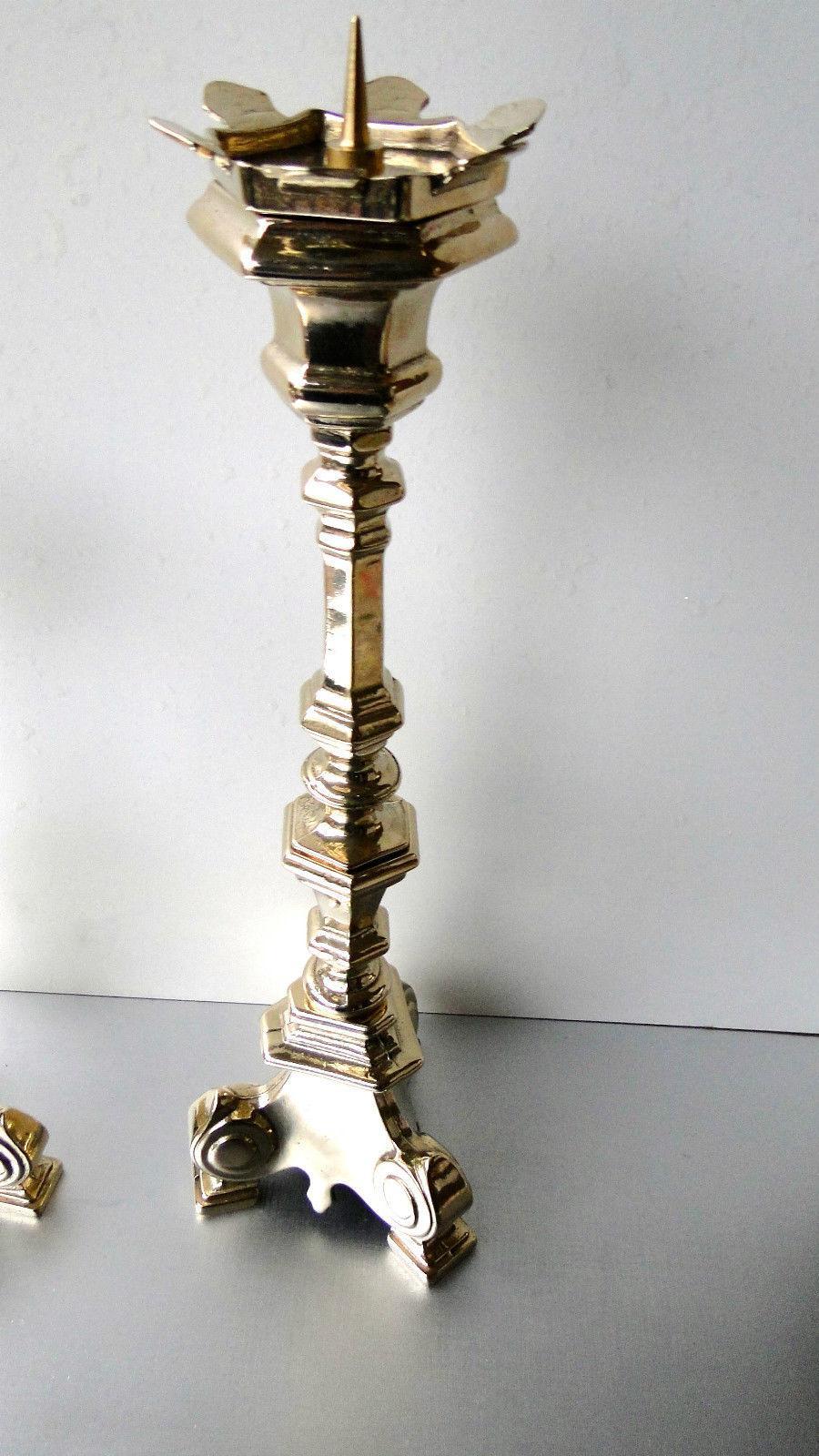 messing kerzenst nder altar kirchenleuchter kandelaber antik gold 30 cm hoch kaufen bei. Black Bedroom Furniture Sets. Home Design Ideas