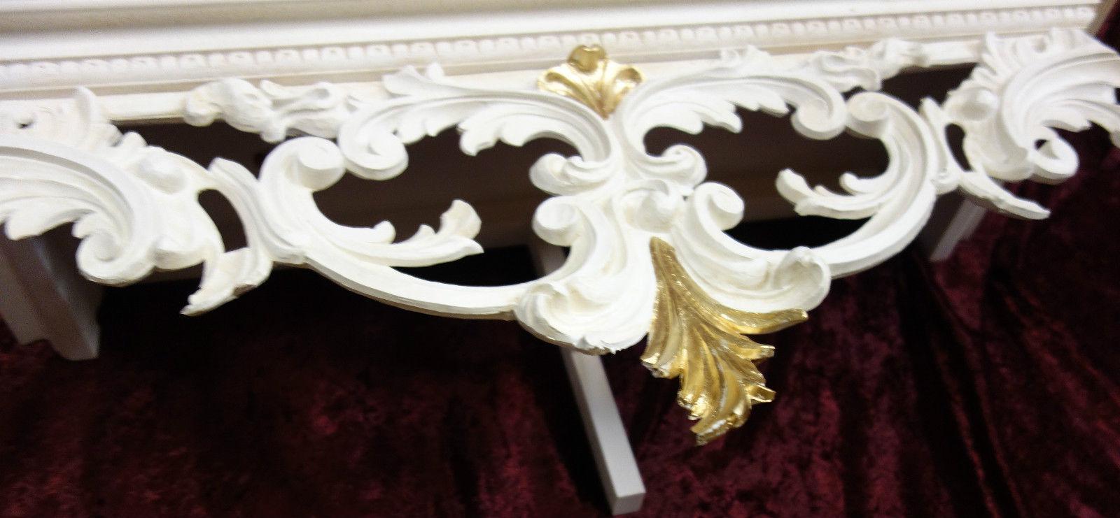 wandkonsole holz antik spiegelkonsolen wandregal barock. Black Bedroom Furniture Sets. Home Design Ideas