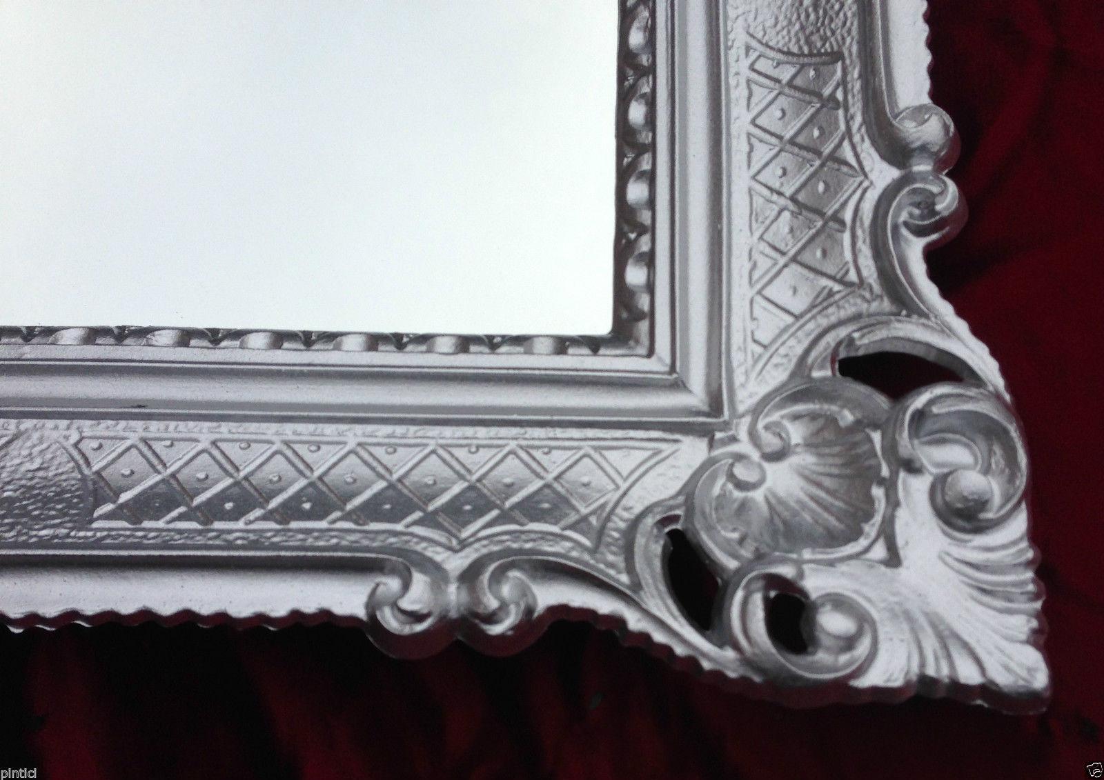 bilderrahmen silber barock xxl 90x70 gem lde antik spiegel foto rahmen gro kaufen bei. Black Bedroom Furniture Sets. Home Design Ideas