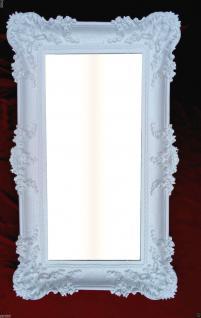 Wandspiegel Barock Weiß Spiegel Badspiegel DEKO 97x58 Großer Spiegel