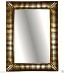WANDSPIEGEL xxl Gold 118x88 Spiegel Groß BAROCK BADSPIEGEL )019A Friseurspiegel