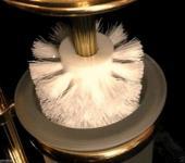 Ersatzs WC Bürste ohne Stiel Bürstenersatzkopf büsrstenkopf ersatzsbürste WEiß