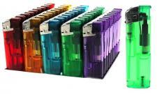 50 Feuerzeuge mit Durchsichtig Motiv farbig nachfüllbare lighter NEU Feuerzeug-a