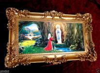 Mutter Maria LOURDES 97x57 jungfrau Madonna Mutter Gottes heilige Maria Bild