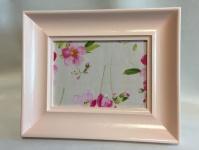 Bilderrahmen Rosa pink Landhaus Antik 28x21 Fotorahmen Frame Rahmen C110P