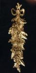 Wanddeko Barock Wandbehang Gold Deko 60x18cm Wandrelief Deko Antik C1503
