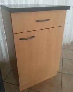 Unterschrank MANKAPORTABLE Buche ohne APL BxT 40cm breit/50 tief Küche Mehrzweck