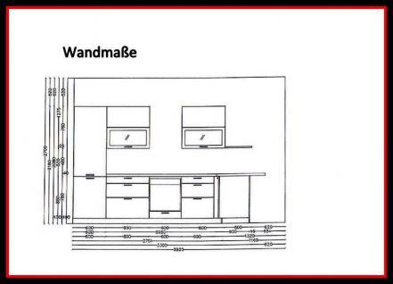 Einbauküche MANKAYOU 1 Küche Küchenzeile L-Form 355x190cm Weiss Hochglanz Lack - Vorschau 5