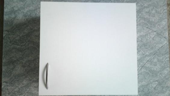 Hängeschrank 60x57cm R Küche Wandschrank Mehrzweckschrank weiß/fertig montiert !