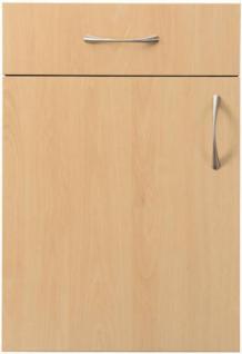Einbauküche MANKAGAMMA 3 Buche Küche Küchenzeile 280cm Küchenblock o. E-Geräte - Vorschau 2