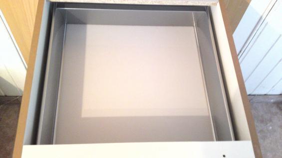 Einbauküche MANKAWHITE 3 Küche Küchenzeile Küchenblock o. E-Geräte /Top-Qualität - Vorschau 3