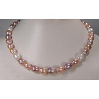 Multicolor-Perlenkette in Pastelltönen - Vorschau 2