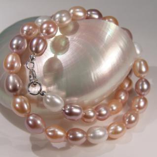 Multicolor-Perlenkette in Pastelltönen - Vorschau 4