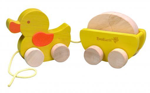Nachzieh-Ente mit Ei - Vorschau