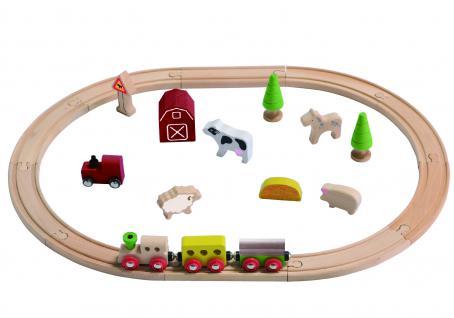 Eisenbahn-Set Bauernhof
