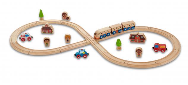 Eisenbahn-Starterset - Vorschau