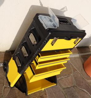 Metall Werkzeugtrolley Werkzeugkasten Werkstattwagen XXL Type B305A-D -> jetzt neu mit Schubladenverriegelung und Schloss!!