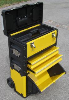 Metall Werkzeugtrolley Werkzeugkasten Werkstattwagen XL Type B305ABD -> jetzt neu mit Schubladenverriegelung und Schloss!!