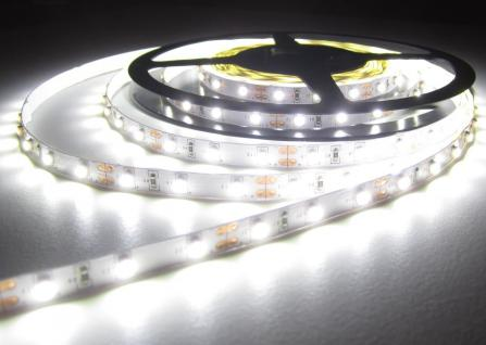 SET LED STRIP STREIFEN LEISTE 10mt neutralweiß weiss naturweiß 600LED inkl. Netzteil (Pro-Serie) 24V TÜV/GS geprüft, 2760Lumen