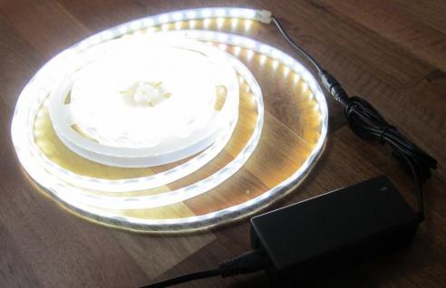 SET 1350 Lumen 5m Led Streifen 300 LED neutralweiß wasserfest IP65 inkl. Netzteil 24 V Pro-Serie TÜV/GS geprüft