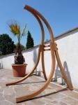 Hängesesselgestell BEATA aus Lärchenholz (Gestell ohne Sessel)