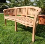 TEAK XXL 3-Sitzer Gartenbank 150cm COCO