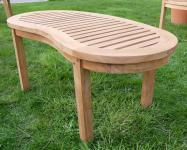 B-Ware TEAK Gartentisch 110x50cm COCO