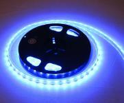 LED STRIP STRIPE STREIFEN LEISTE 300 LED 5mt BLAU, wasserfest IP65, 24Volt (PRO-Serie) (ohne Netzteil)