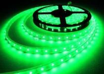 LED STRIP STRIPE STREIFEN LEISTE 300 LED 5mt GRÜN, wasserfest IP65, 12Volt (ohne Netzteil)