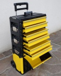 Metall Werkzeugtrolley XXL Type: 305BBBD -> jetzt neu mit Schubladenverriegelung und Schloss!!