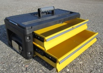 Werkzeugkiste mit 2 Laden - Erweiterung für unsere Trolleys Serie 305