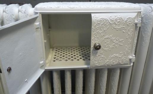 Orginaler Gussheizkörper mit Wärmefach - Vorschau 3