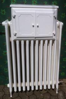 Orginaler Gussheizkörper mit Wärmefach