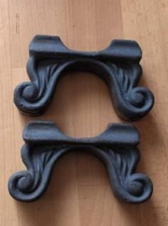 2 Stück Gussfüße für Antik-Heizkörper/Gussheizkörper