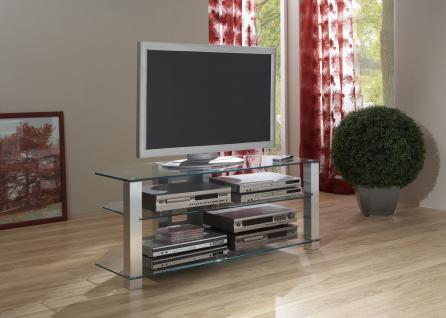fernsehtisch tv rack glas g nstig kaufen bei yatego. Black Bedroom Furniture Sets. Home Design Ideas