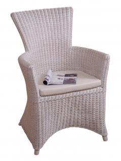 rattanstuhl wei g nstig sicher kaufen bei yatego. Black Bedroom Furniture Sets. Home Design Ideas