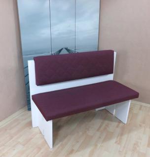 sitzbank wei violett kchenbank holz hockerbank esszimmer dinningbank modern