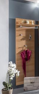 Garderobe wandgarderobe holz g nstig online kaufen yatego for Garderobe echtholz